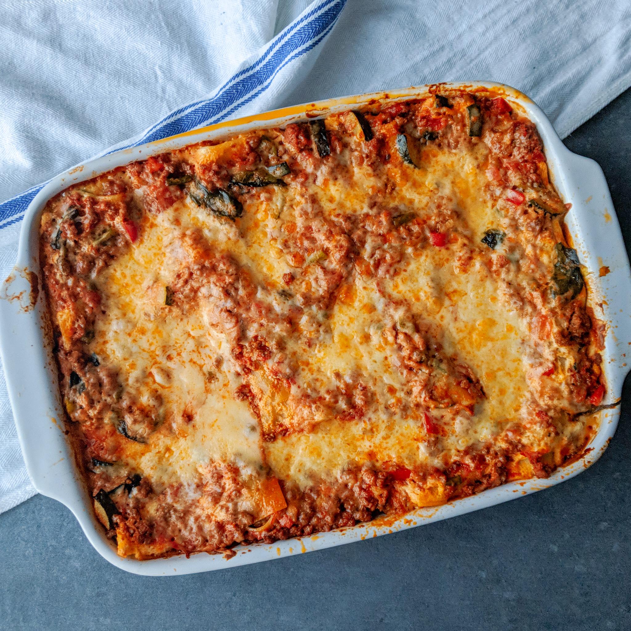 Weeknight Lasagna (GF & DF Options)