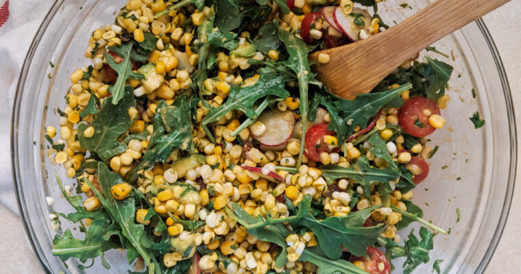 Cold Corn Summer Salad