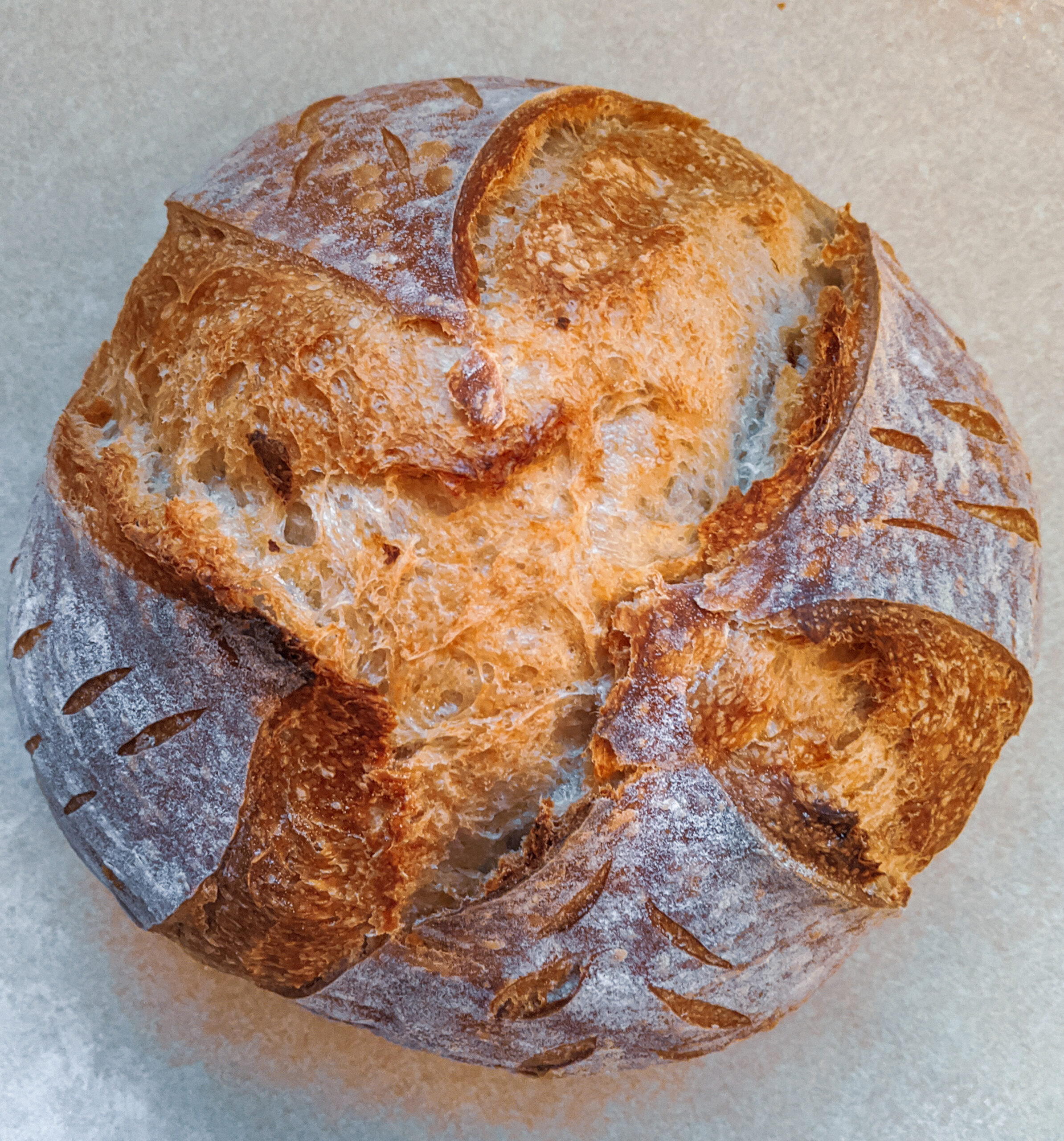 Basic Country Sourdough Loaf