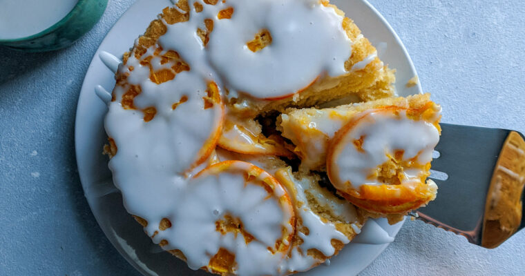 Gluten Free Orange and Ginger Buttermilk Poundcake