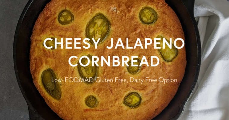 Cheesy Jalapeno Cornbread (Gluten Free)