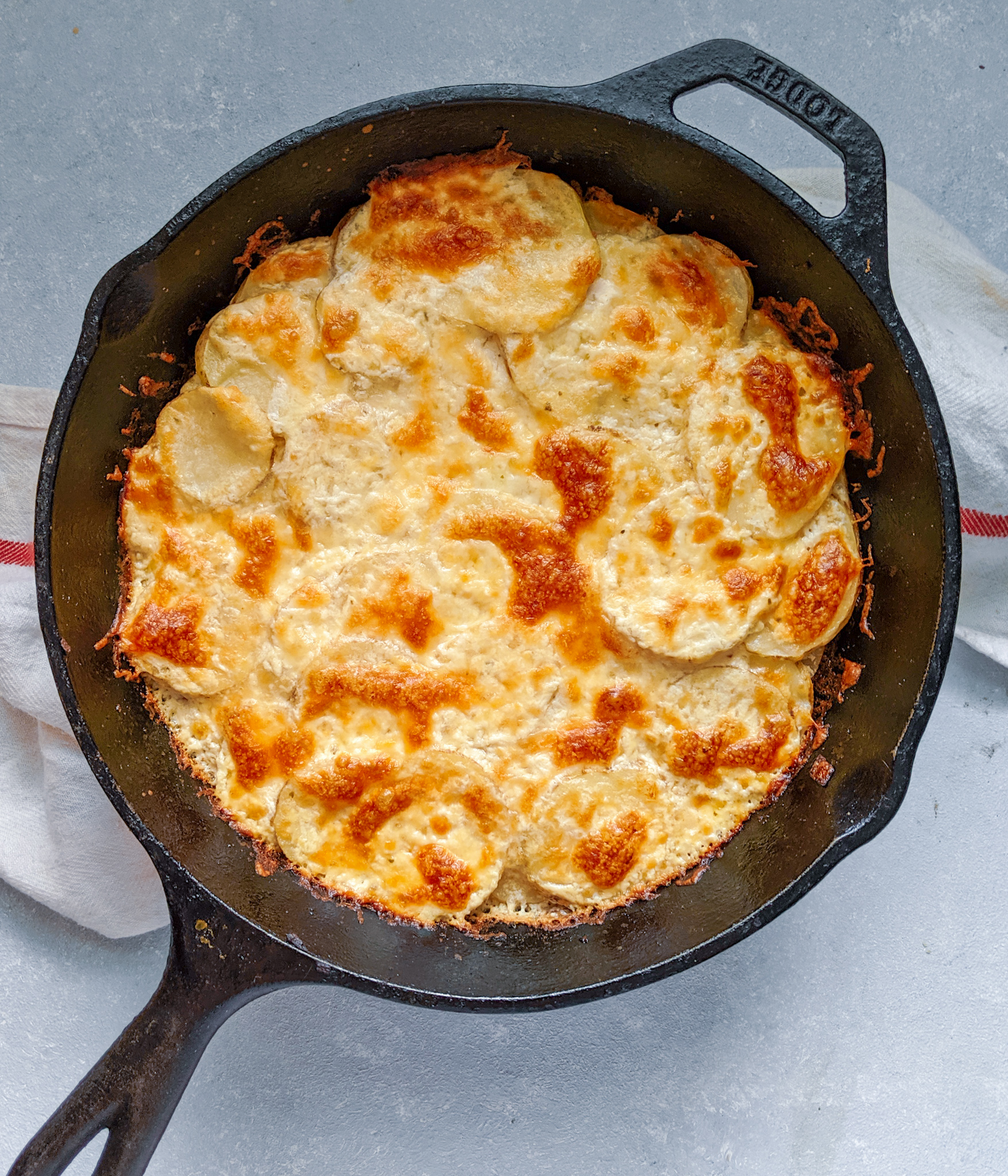 Ricotta Scalloped Potatoes